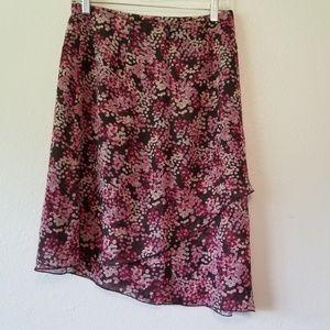 J Crew Asemetrical Skirt